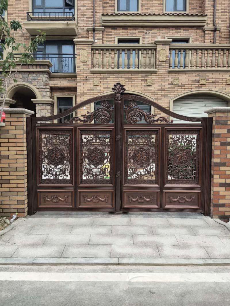 铝艺大门及护栏